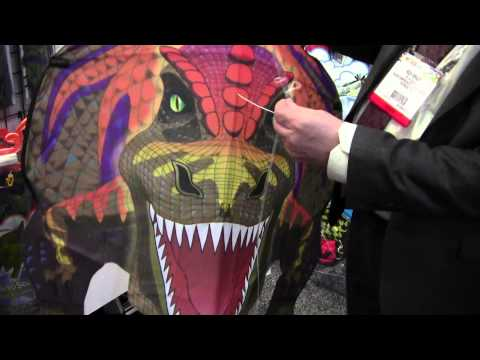 ToyDirectory.com Presents: Brainstorm Products Wind and Sun Kites at 2012 New York Toy Fair