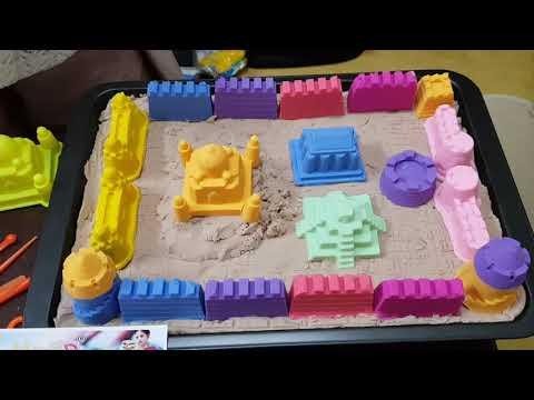 Pasir Kinetik Le Sand 10 Warna Yang Indah