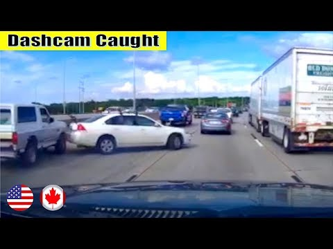 Ultimate North American Cars Driving Fails Compilation - 247 [Dash Cam Caught Video]