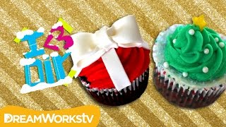 Holiday Cupcakes with SweetEmelyne | I ♥ DIY