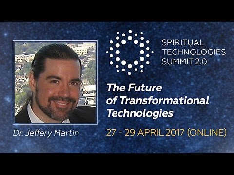 Jeffery Martin, PhD: The Future of Transformational Technologies - preview