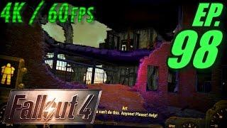 Fallout 4 Walkthrough in 4K Ultra HD / 60fps, Part 98: Reaching Nahant Wharf! (Let