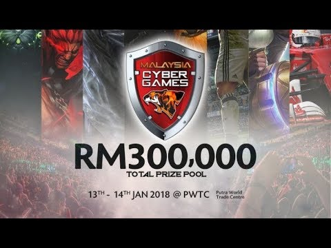 Malaysia Cyber Games 2018