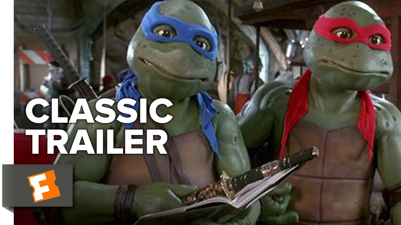 Teenage Mutant Ninja Turtles 1990 Official Trailer Live Action Movie Hd Youtube