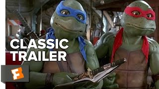Teenage Mutant Ninja Turtles (1990) Official Trailer - Live Action Movie HD