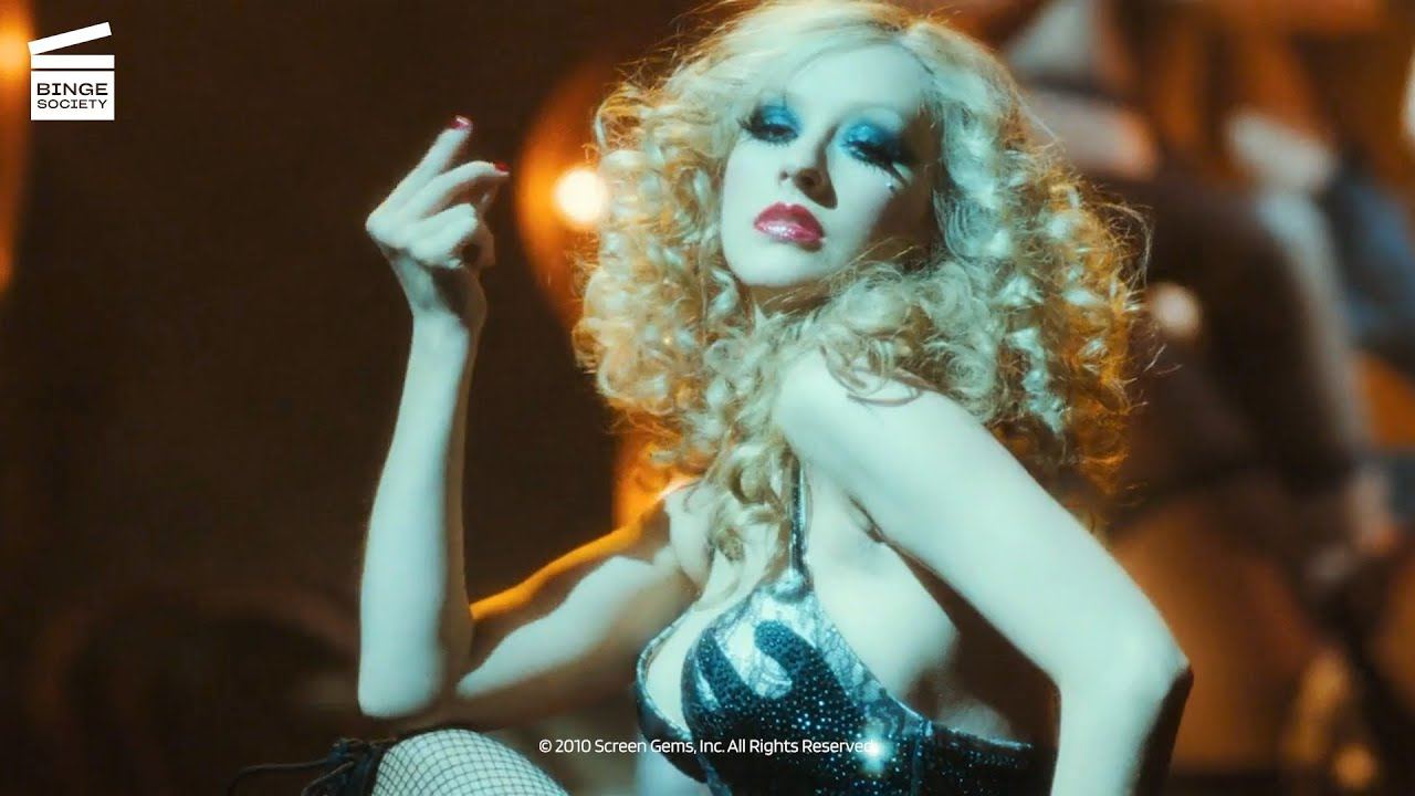 "Download Burlesque: Ali performs ""Express"" (HD CLIP)"