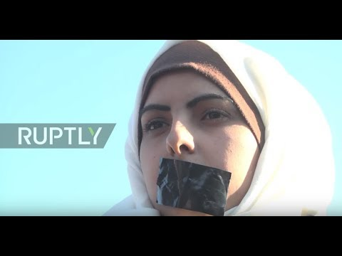 State of Palestine: Protesters demand justice for death of Palestinian journalist