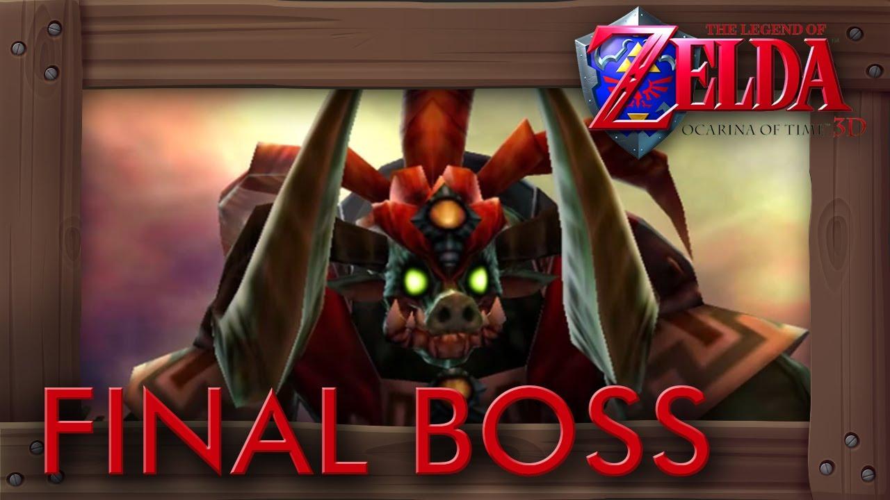 Zelda Ocarina of Time 3D - Final Boss & Ending (1080p HD Version)