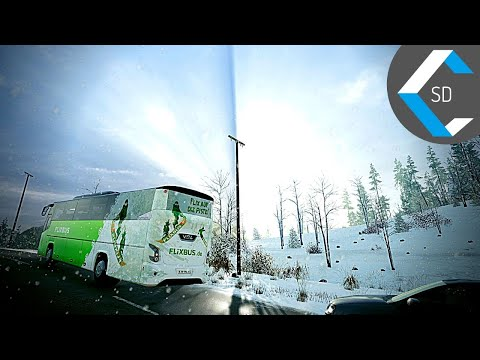 FERNBUS COACH SIMULATOR [Ultra Realistic] | Snow Serpentine | Gameplay No Commentary | 1440p 60fps |