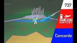 ROBLOX | Itty Bitty Airport - Neues Update, Concorde, Boeing 737 & mehr!
