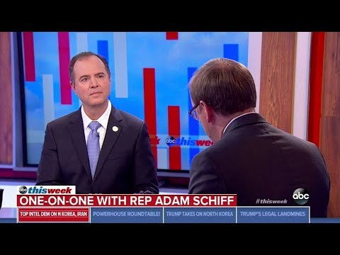 "Rep. Schiff on ABC This Week: ""More Than a Ray of Light"" in North Korea Negotiations"