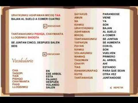 Curso de quichua - Contar del 1 al 10 - 1er y 2da parte