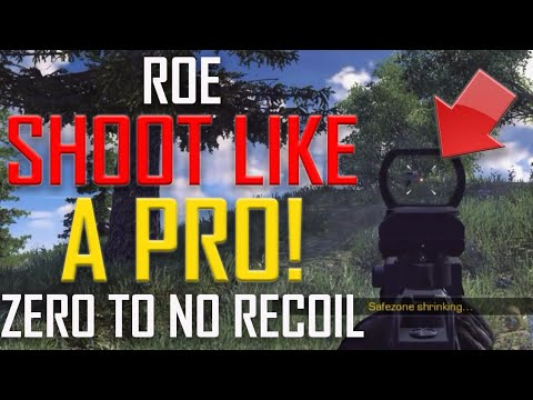ROE (Ring of Elysium): HOW TO SHOOT/AIM LIKE A PRO! (+MOUSE CAM)