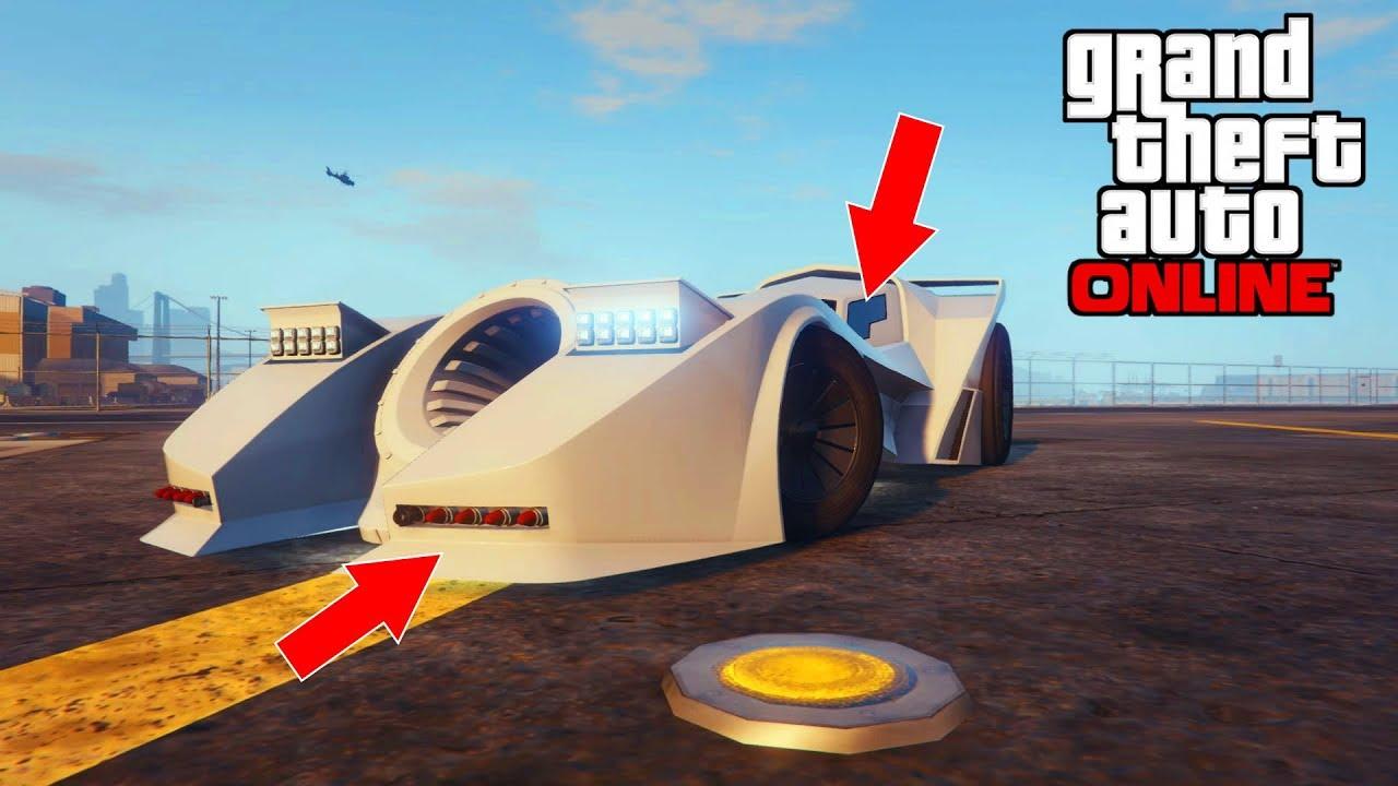 قراند 5 معلومات ما تعرفها بخصوص سيارة باتمان اسرع سيارة صاروخية Youtube