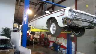 ***SOLD*** 1964 Dodge Polara 500 undercarriage For Sale, Passing Lane Motors, Classic Cars