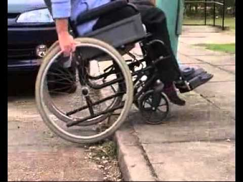 Think A wheelchair users daily struggle