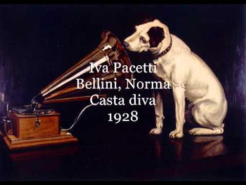 Pacetti ivana casta diva bellini norma youtube - Norma casta diva bellini ...