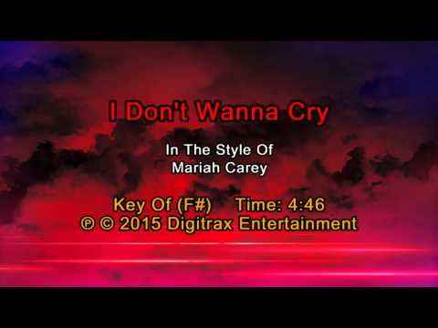 I Dont Wanna Cry Guitar Chords - Mariah Carey - Khmer Chords
