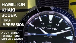Hamilton Khaki Scuba First Impression