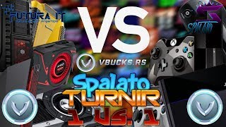 PC vs PS4 TOURNAMENT 1Vs1/SPONSOR @vbucks. RS-#Fortnite #Balkan #Live #Turnir
