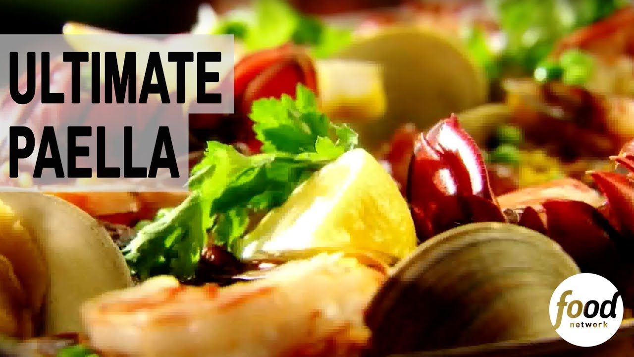 Ultimate paella cozinha food network youtube ultimate paella cozinha food network forumfinder Image collections