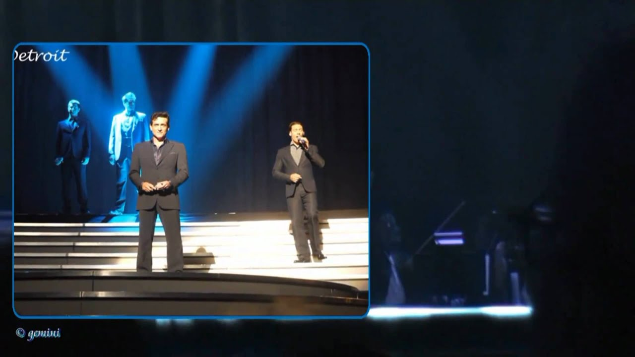 An evening with il divo overture somewhere o2 - An evening with il divo ...