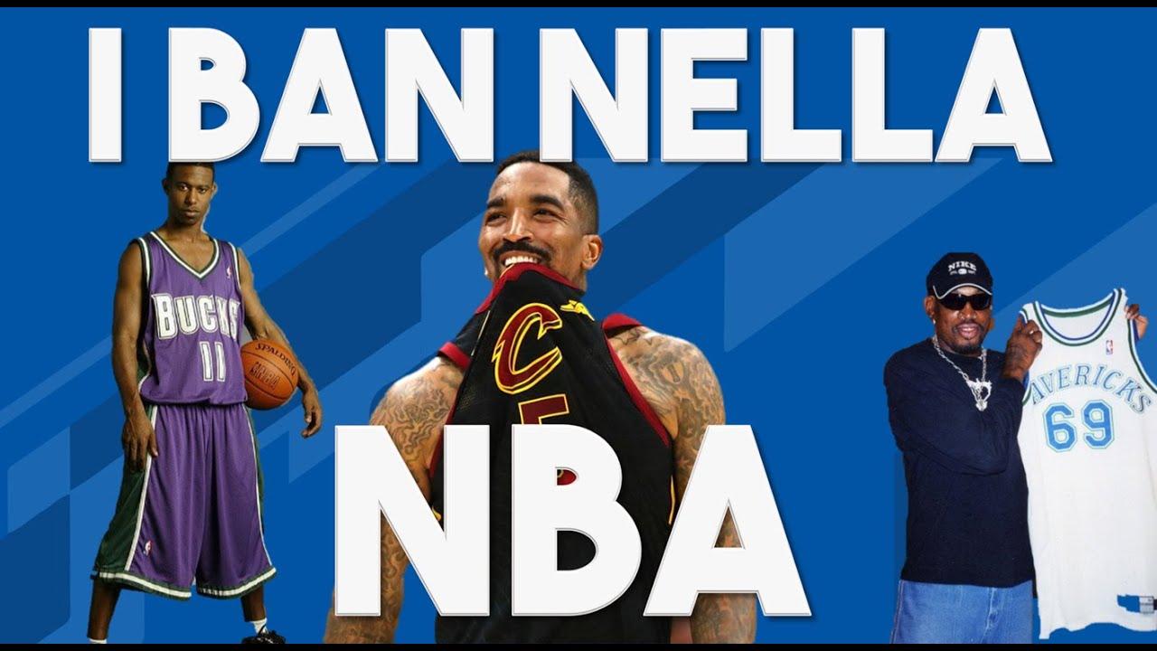 I ban più assurdi della NBA