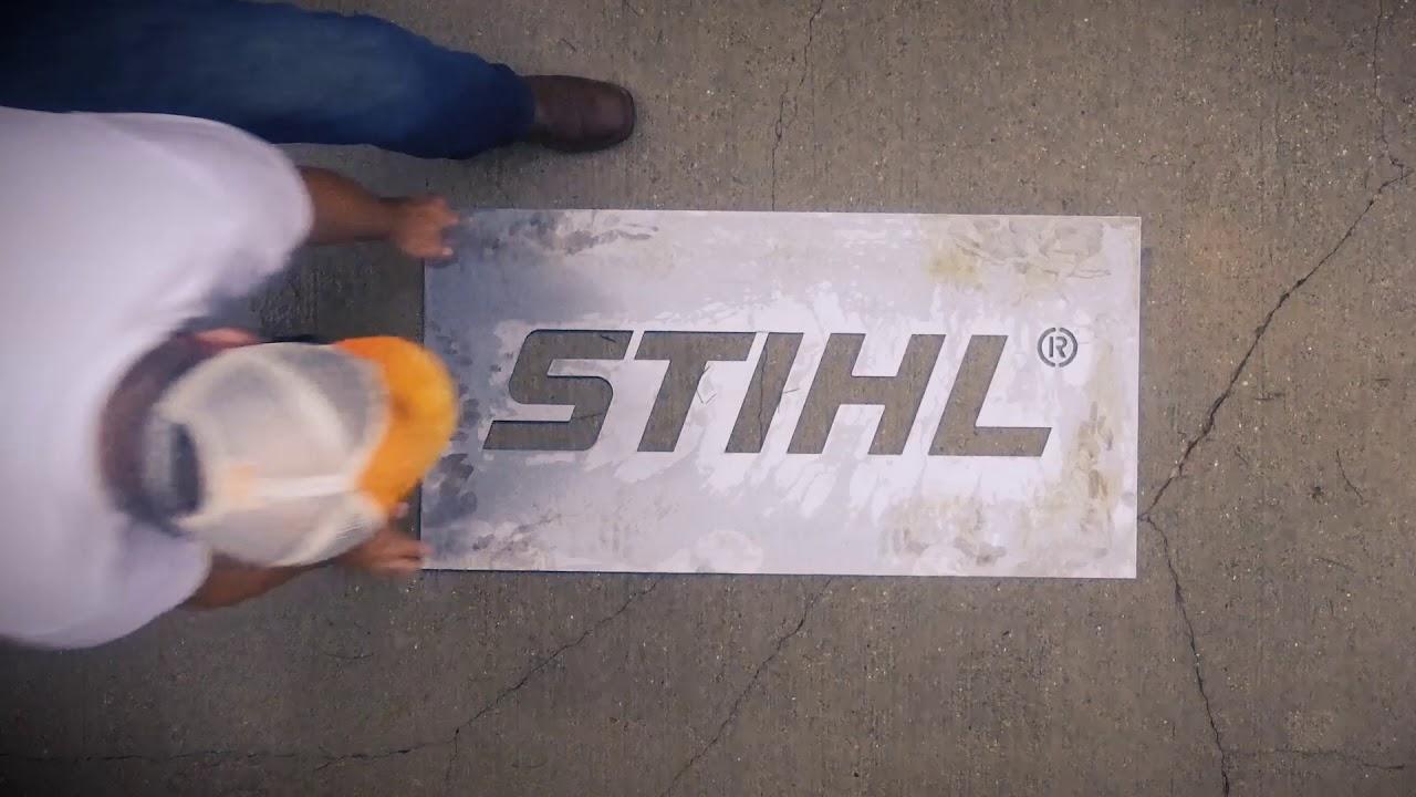 Stihl - Stencil Tease