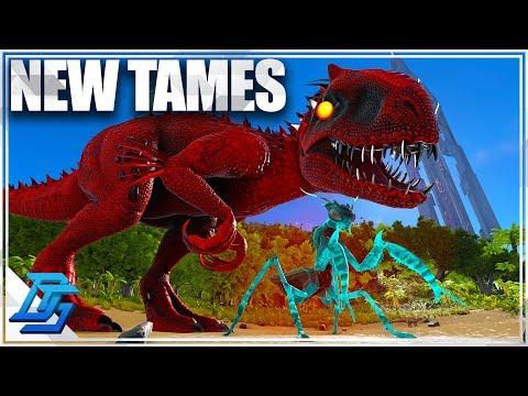 Taming Indominus Rex & Prime Mantis  - Ark Survival Evolved - Part 6 (Eternal Mod)
