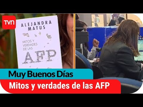 El libro que explica los mitos y verdades sobre las AFP    Muy buenos días