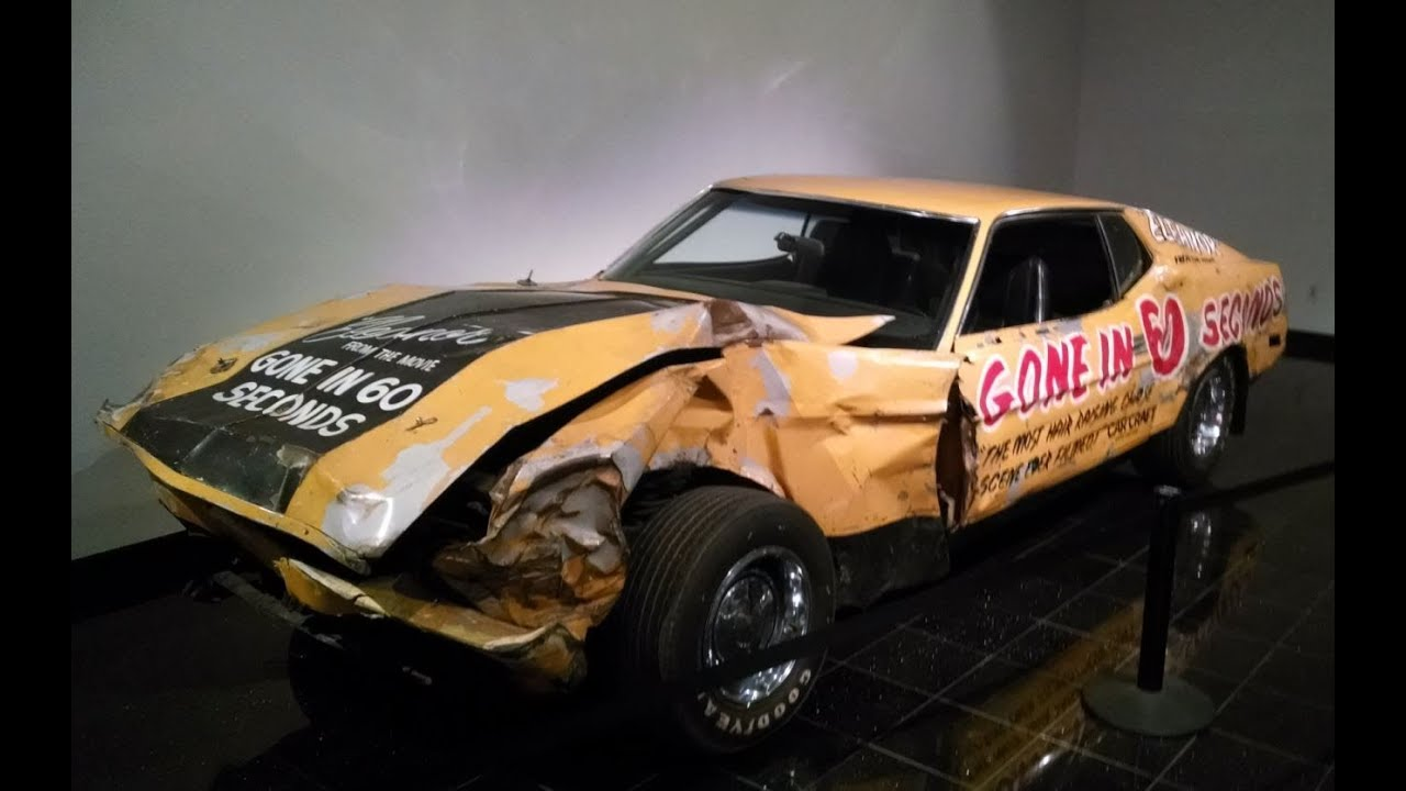 gone in 60 seconds original eleanor 1971 mustang the petersen automotive museum youtube - Shelby Mustang Gone In 60 Seconds