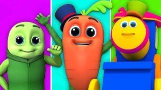 Wow Wow Veggies | Боб Поезд Шорты | Мультфильм Рассказы Для Детей | Stories For Kids | Kids Video