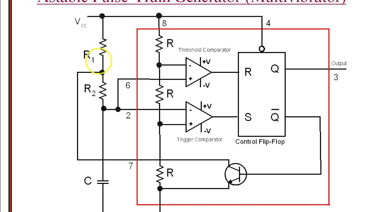 astable multivibrator using 555 youtube