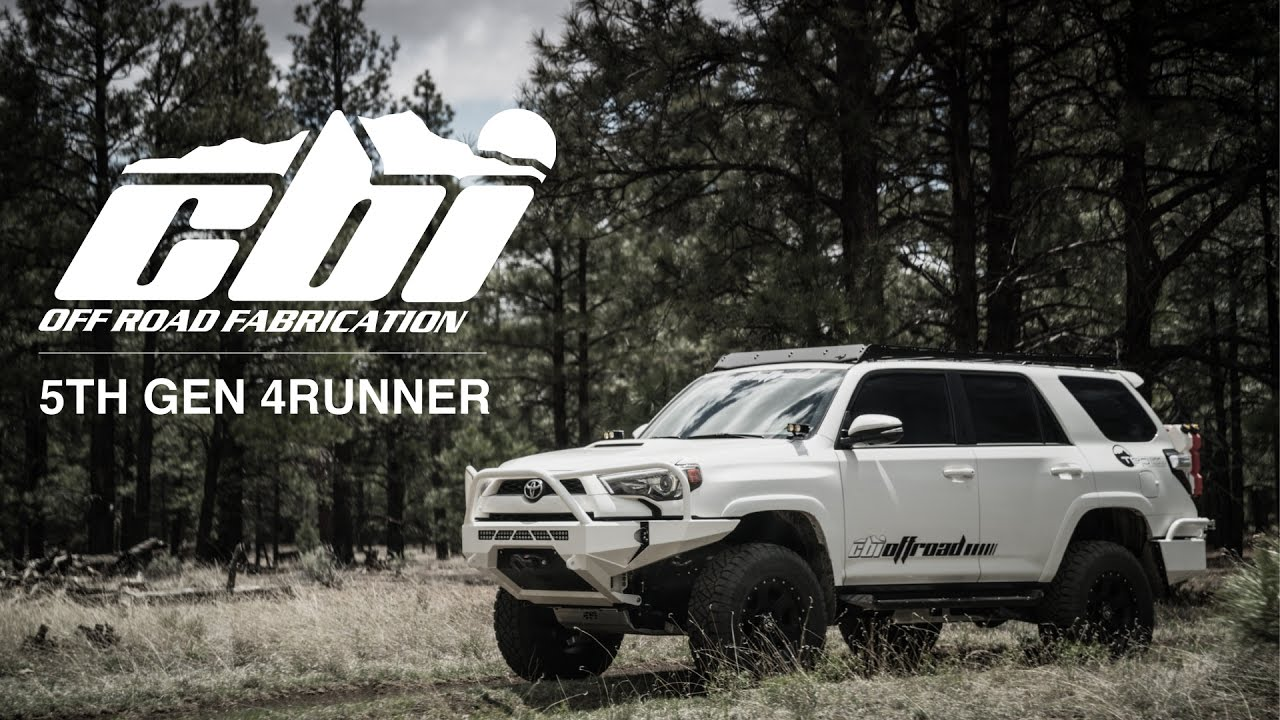 5th Gen Toyota 4runner Rear Bumper Current Cbi Offroad Fab