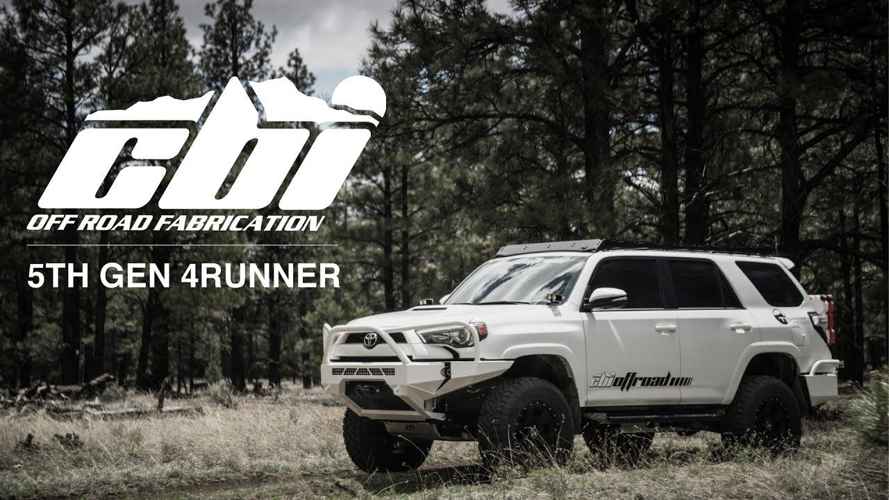 Cbi Offroad 5th Gen 4runner Bumper Reveal Youtube