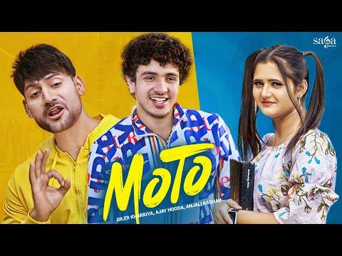 Haye Re Meri Moto Ajay Hooda Diler Kharkiya Anjali Raghav Moto Song Saga Music Youtube