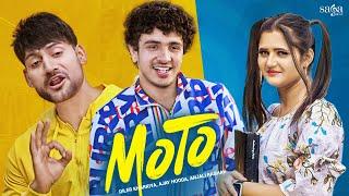Haye Re Meri Moto - Diler Kharkiya | Ajay Hooda | Anjali Raghav | Moto Song | Saga Music
