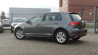 Volkswagen NEW Golf GP 2018 Indium Grey Metallic Comfortline tdi dsg Walkaround & inside