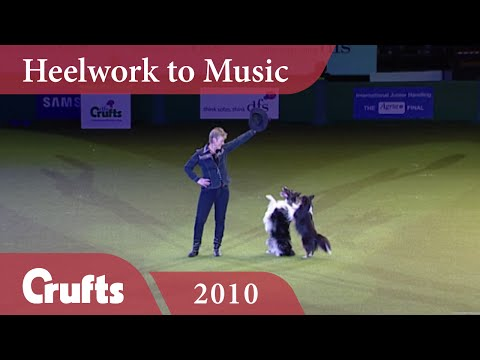 Heelwork To Music - Mary Ray's 2010 Performance | Crufts 2010
