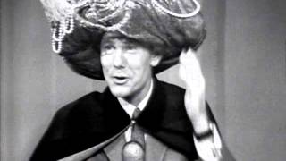 """Carnac the Magnificent answers """"A 100 yard dash"""" on The Tonight Show Starring Johnny Carson - 1966"""
