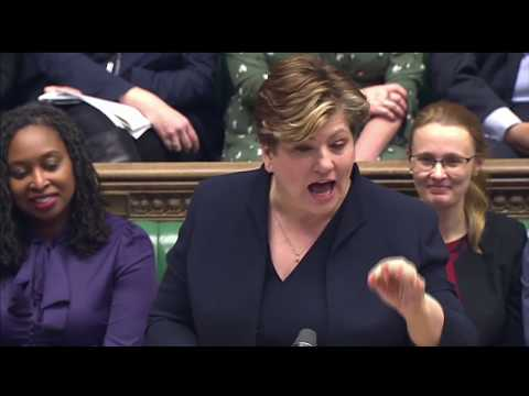 LIVE: Lidington and Thornberry face off at PMQs