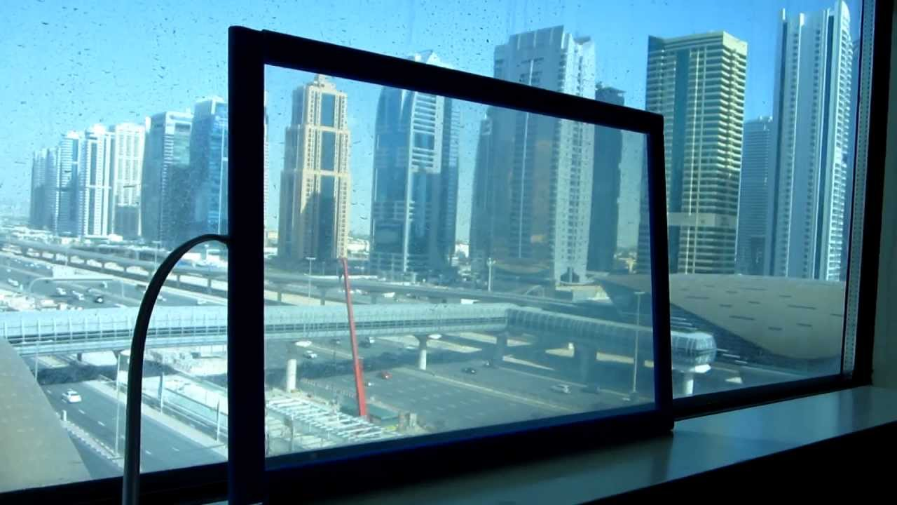 switchable smart film glass in dubai uae youtube. Black Bedroom Furniture Sets. Home Design Ideas