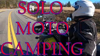 SOLO MOTOCAMPING ADVENTURE / Fall Creek Falls, TN