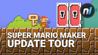 Super Mario Maker Key Update Tour v1.6 | Super Mario Maker New Items