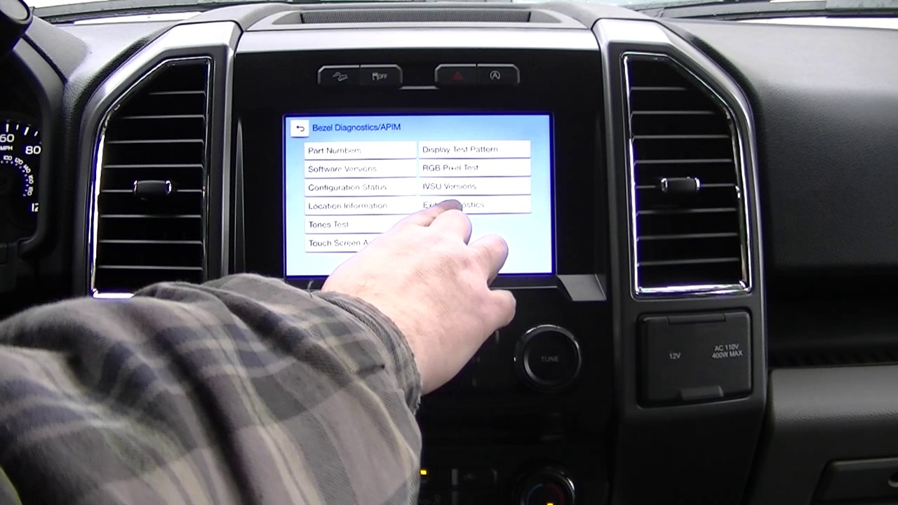 2016 Ford F150 with Sync 3 Navigation program edit and diagnostic
