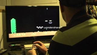 Space Invaders New World Record - Atari Console 400/800 XL/XE