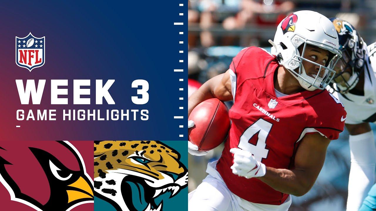 Download Cardinals vs. Jaguars Week 3 Highlights   NFL 2021
