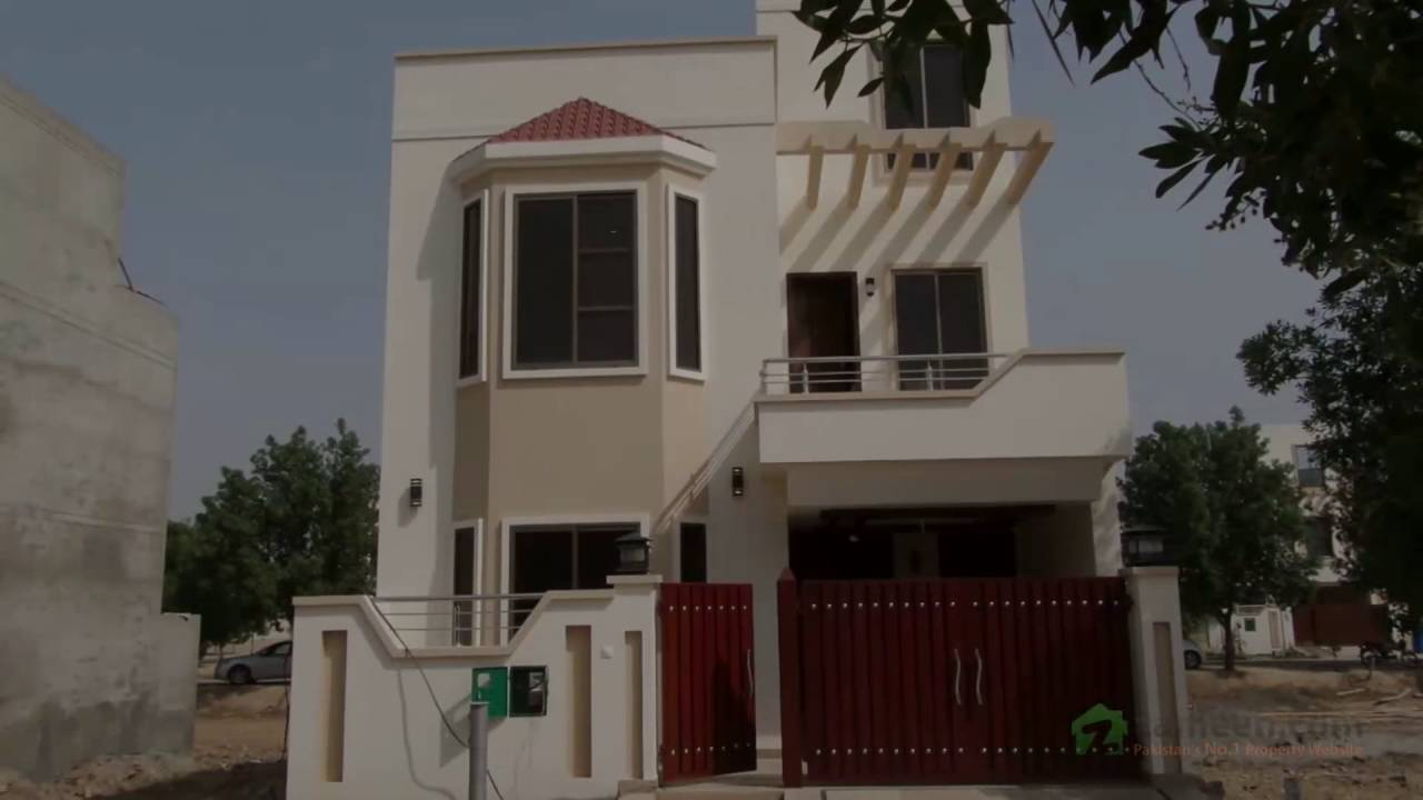 A beautifully designed and constructed 5 marla house in bahria nasheman lahore