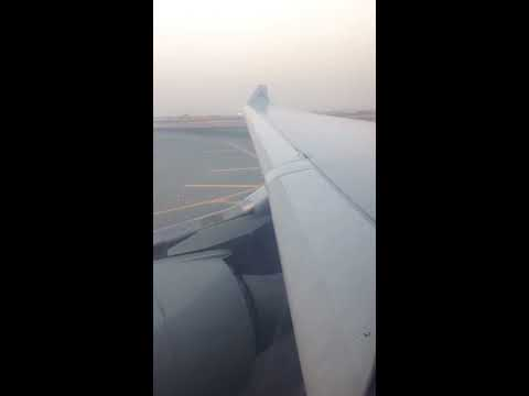 [HD] Qatar A330 landing in Doha (leaving runway with reverse trust)