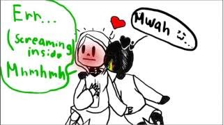 ania x paperjam comic dub for undertale peasant
